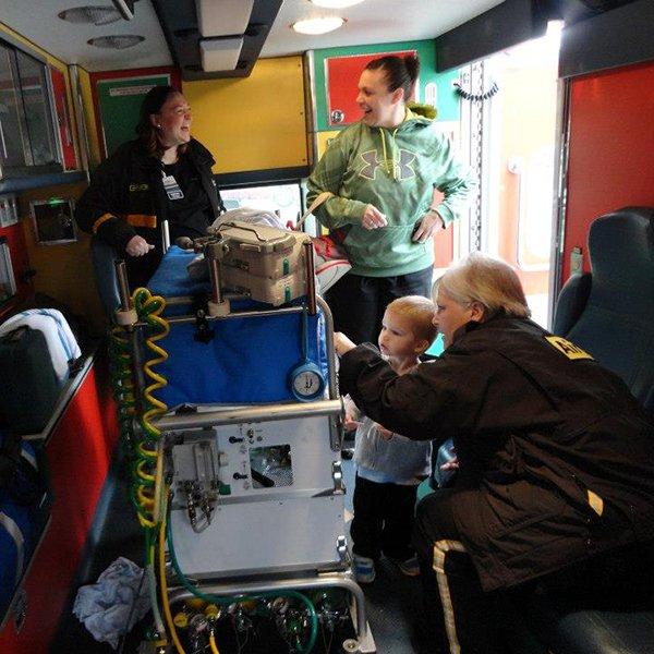 ICM ambulance visit