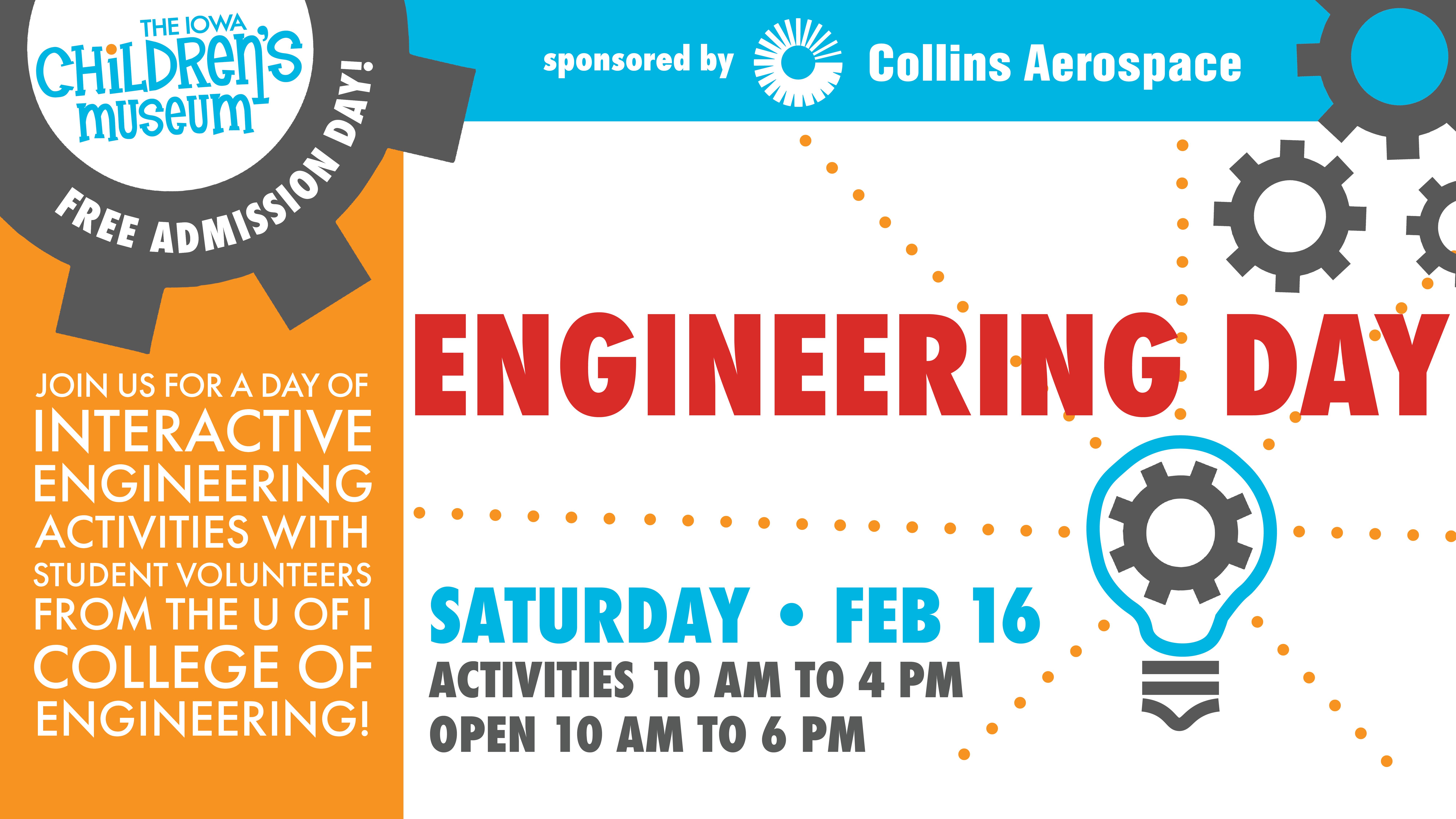 Engineering Day Iowa Children S Museum